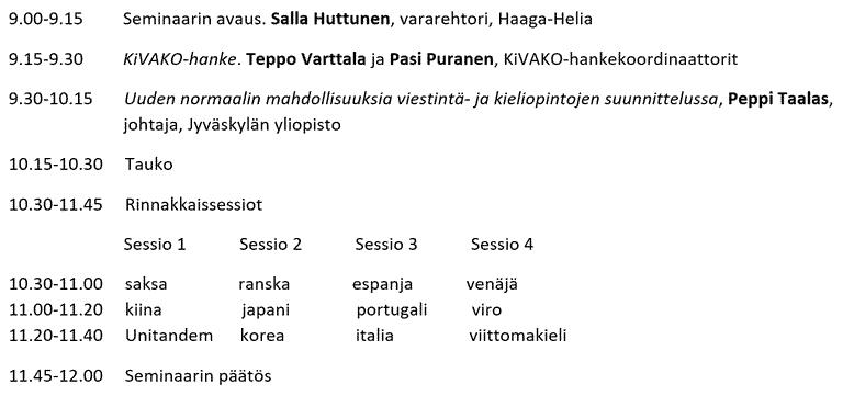 KiVAKO-ohjelma